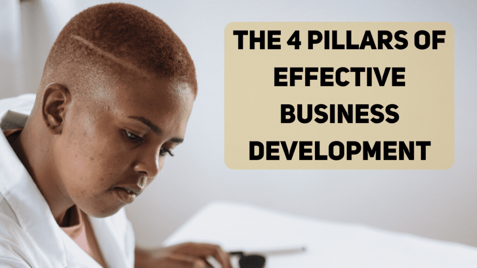 The 4 Pillars of Effective Business Development